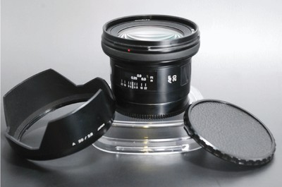 美能达 超广角自动定焦镜头 20mm F2.8 new 带原装皮桶 新成色
