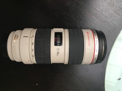佳能 EF 70-200mm f/2.8L IS USM(小白IS),送(B+W)UV镜