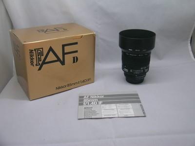 出售 97新 尼康 AF 85mm f/1.4D IF 包装齐全 请看图片