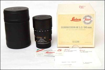新品展示品 徕卡 Leica M 90/2 后期 方字版 白盒包装