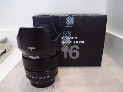 97新 富士 16mm f/1.4 R镜头,带包装!