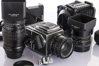 哈苏 503CW60mm/80mm/120mm微距三头一胶片后背/波拉背