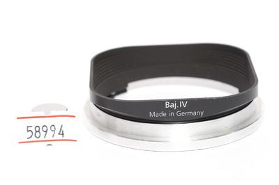 禄来/Rolleiflex Baj.IV 金属遮光罩   4.0FW相用 *美品*