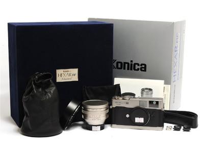 柯尼卡/Konica Hexar RF限量版连50mm F1.2镜头 徕卡M口 *如新*