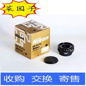 尼康 nikon 45/2.8 45 F2.8 黑色 饼干头 好成色