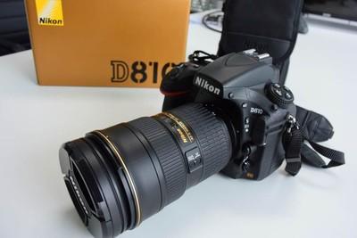 尼康 D810高端全画幅单反相机配24-70F2.8