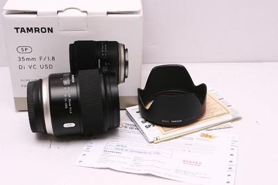 腾龙35/1.8 VC SUD 腾龙35mm1.8 腾龙 35/1.8 佳能口 98新 带包装