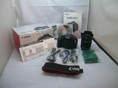 出售 98新 佳能 600D带18-55/STM 包装齐全 请看图片