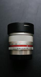 samyang 8mm f2.8 鱼眼镜头富士口