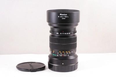 95/玛米亚 N 150/4.5L 镜头, 7或7II 型相机用,(带原厂遮光罩)