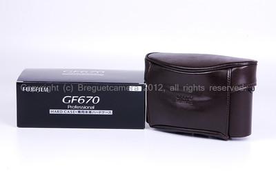 【全新】Fujifilm/富士 GF670 Hardcase 专用(硬套)带包装 #JP