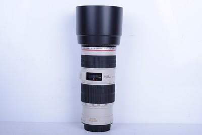 95新二手Canon佳能 70-200/4 L IS USM小小白IS(B2566)【津】