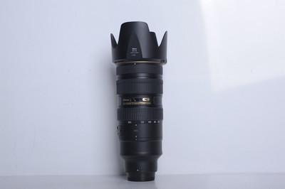 95新二手Nikon尼康 70-200/2.8 G VR II 大竹炮(B3978)【津】