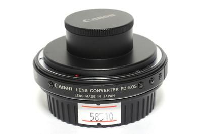 佳能/Canon Lens Converter转接环 FD长焦镜头用于EOS相机 *美品*