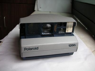 很新宝丽来1200i一次成像相机,收藏使用