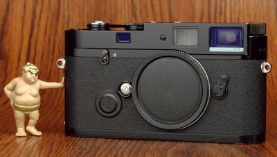 徕卡 MP 0.72 胶片机 黑漆 性感漏铜