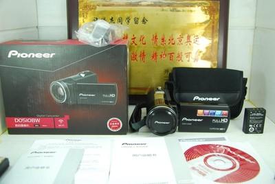 99新 Pioneer/先锋 D0510BW 数码摄像机 DV录像机 触摸屏 带wifi