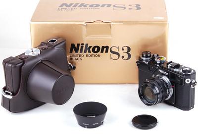尼康 S3+50/1.4 黑漆限量版 全套带包装 #jp18622