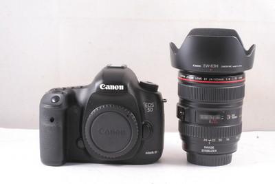 98/佳能 5D Mark III 套机含24-105/4镜头 成色极新 ( 全套包装 )