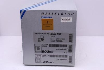 哈苏503CW 千禧版 套机 哈苏 503CW CFE80/2.8 A12后背 包装 99新