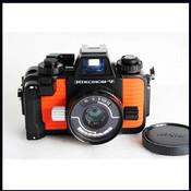 尼康 nikon 水下相机 nikonos-v 35/2.5 专业桔皮潜水相机