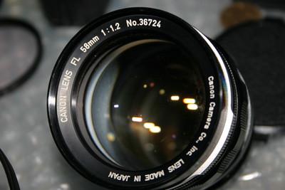 佳能 FL 58 1.2 镜头