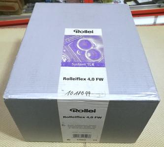 Rolleiflex/禄来 4.0FW 双反相机 带全套包装 新同品
