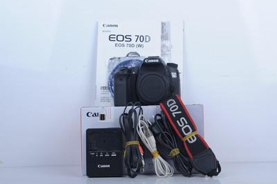 95新二手 Canon佳能 70D 单机 中端单反相机(B3662)【京】