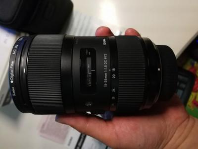 出自用适马 18-35mm f/1.8 DC HSM(A) 尼康卡口