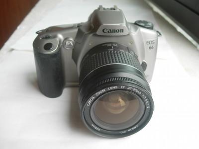 很新佳能EOS66单反相机带28--80mm镜头,收藏使用