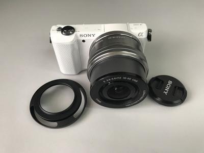 索尼 ILCE-5000 +16-50 微单套机 3228# 【天津福润相机器材店】