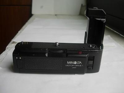 较新美能达MD--1型马达,专配美能达X300,500,700相机,经典!