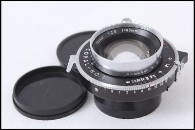 蔡司 PLANAR 80/2.8 6X9座机镜头