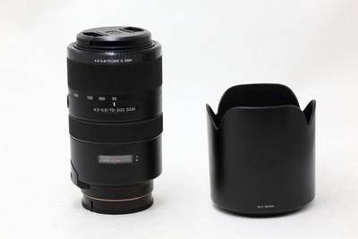【情迷海印店】索尼 70-300/4.5-5.6G SSM(NO:9746)