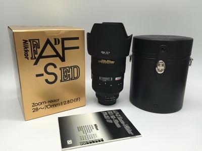 98新带包装尼康 28-70mm f/2.8 ED-IF 28-70