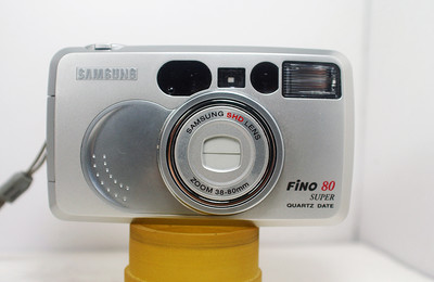 三星全自动胶片照相机( SAMSUNG Fino 80  38--80mm变焦)
