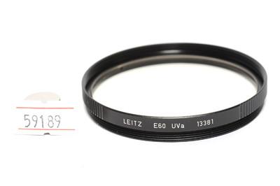 徕卡/Leica 60mm UVa E60 滤镜 13383   Leitz徽标 *超美品*