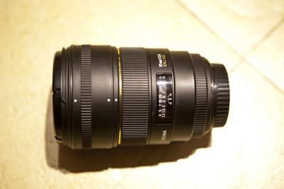 佳能口  适马85mm1:1.4 DG HSM
