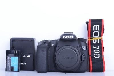 98新二手 Canon佳能 70D 单机 中端单反相机(B1890)【京】