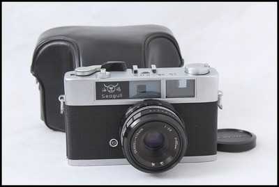 国货精品 海鸥205 135旁轴胶卷相机