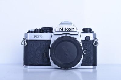 92新二手Nikon尼康 FM2 单机 胶片机 铝帘(B3613)【京】