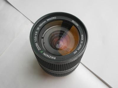 较新理光28--105mm金属制双环镜头,PK卡口,可转接各种数码相机