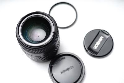出美能达AF35 1.4G带镜头盒,索尼A口