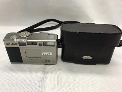 美能达TC1 MINOLTA TC-1 tc1 28mm f3.5 经典旁轴送原厂牛皮套