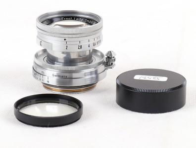 放射性玻璃徕卡Summicron 50/2  L39银缩头#jp18585