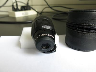 徕卡M21/2.8 ASPH,E55口径 + 21-24-28三段式取景器