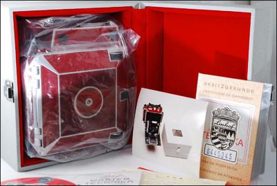 林哈夫 LInhof Technika Master Master 4x5 50周年纪念机 带包装