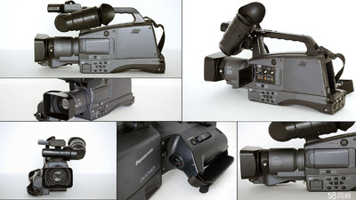 肩扛大摄像机