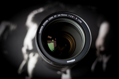 出自用成色好的佳能 EF 24-70mm f/2.8L II USM 箱说全