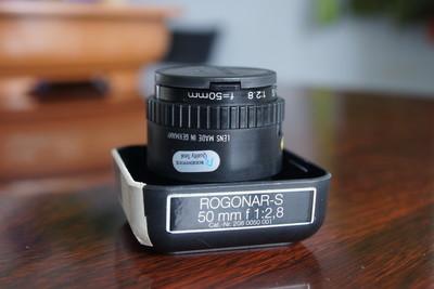 罗敦司德ROGONAR-S 50mm f2.8放大镜头
